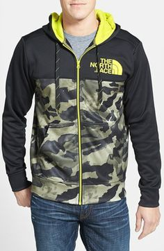 The North Face 'Shinbori' Full Zip Hoodie King Outfit, Denim Shirt, T Shirt, Softshell, Sport Wear, Full Zip Hoodie, Winter Collection, Goku, Camouflage