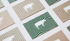 Silkscreen and letterpress printed business cards for myself.
