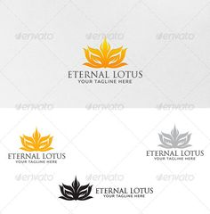 Eternal Lotus - Logo Template by martinjamez 100 Vector File Format :EPSColor Mode :CMYKFont used :Catwoman Download Link : http://www.dafont.com/catwoman.font?