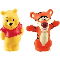 Fisher-Price Magic of Disney Pooh and Tigger Friends by Little People, Yellow