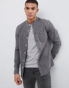 2549fd45350 Denim Shirt · Collars · Mens apparel clothing collection..   classymensfashion Asos Men