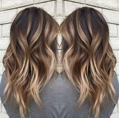 Hair Color - Using Keune color, Redken toner and Brazilian Bond Builder to preserve the integrity of the hair during the lightening process, along with Unite styling products, Malone create this brunette look for summer, that could just as well work for the seasons ahead.