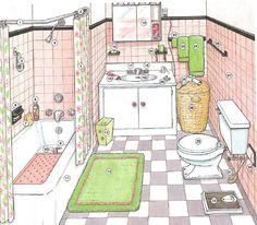 Vocabulario baño