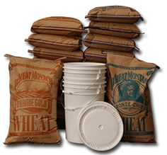 A great site when buying bulk grains - especially my gluten free flours like Buckwheat, tapioca, and rice flours! Prices are wholesale with free shipping from Amish Country!