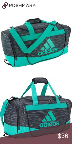 Addidas Defender II Duffle Bag The Defender II Duffel is a multi-purpose duffel with loads of value. Great for sport or school, the Defender II Duffel is packed with features and benefits at a great value.💪🏻 Bag is in excellent condition - like new. adidas Bags Travel Bags