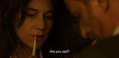 """― 3 Hearts (2014) """"Are you sad?"""""""
