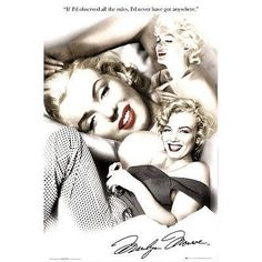 GB Eye Marilyn Monroe Rules Poster - This high quality poster image is approximately 36-Inch by 24-Inch and is suitable for framing. The poster offers a lower cost alternative to a more expensive print or painting. Posters are perfect wall décor for
