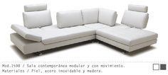 Mueble Interior Mod. 1598 #muebles #sillon #salas #minimalista