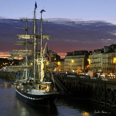 The Belem in Nantes by Charles Marion