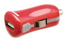 USB-laturi 2.1A, 1xUSB, Punainen – Valueline Usb, Electronics, Light Therapy