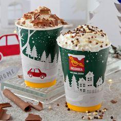 Insomnia's Christmas Hot Chocolates: Hazelnut Hot Chocolate, Red Velvet Hot Chocolate Christmas Hot Chocolate, Hot Chocolate Recipes, Insomnia, Chocolates, Red Velvet, Ava, Brewing, Product Launch, Drinks