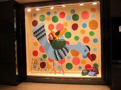 Loewe windows, Hong Kong visual merchandising