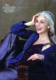 Model Ingmari Lamy -- first modelling career in the '60s and '70's, second starting in the '90s :-)