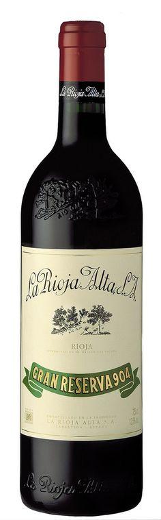 La Rioja Alta Gran Reserva 904 del '98. Un vinazao de la Rioja con 95 puntos Peñín!