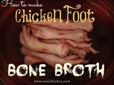 The first time I made this my husband though I had become certifiably insane! My grocer even looked at me a little funny when I ordered up some chicken fee