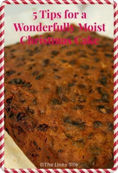 When I shared my Christmas cake recipe I didnt include some extra tips. So today I am sharing my top tips for achieving a perfectly moist Christmas cake! 3 Ingredient Fruit Cake Recipe, Moist Fruit Cake Recipe, Moist Christmas Cake Recipe, Baking Recipes, Cake Recipes, Dessert Recipes, Sweets Recipe, Fudge Recipes, Dessert Ideas