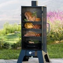 A good barbecue isn't easy and there's no substitute for experience but we've all got to start somewhere so if you're a BBQ novice then read on. Gas Smoker, Propane Smokers, Meat Smokers, Masterbuilt Propane Smoker, Smoked Meat Recipes, Venison Recipes, Rib Recipes, Oven Recipes, Sausage Recipes