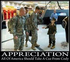 Appreciation.