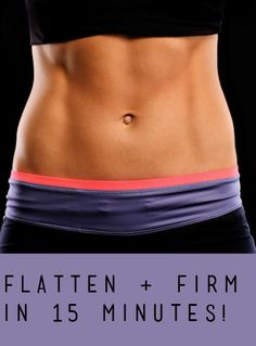 15-Minute Core Workout to Tone and Tighten