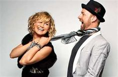 Sugarland...good country music, positive engergy, see its not ALL sad