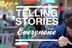 #Everynone #tellingstories #video