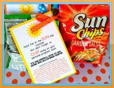 Summer Personal Progress Motivator - Sun Chips