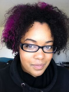 Naturals with Bleached and/or Colored Hair - Manic Panic Purple Haze & Hot Hot Pink