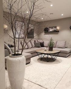 Living room designs – Home Decor Interior Designs Living Room Decor Cozy, Elegant Living Room, Living Room Interior, Home Interior Design, Modern Living, Cozy Living, Small Living, Kitchen Interior, Living Room Inspiration