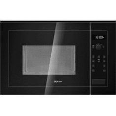 GRADE A2 - Neff H12WE60S0G 900W 25L Built-in Microwave Oven Black
