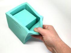 4 Würfel Pflanzer Schimmel  Silikon  geometrische Form