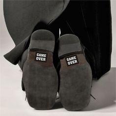 Naklejki na buty dla Pana Młodego :).