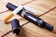 Students who reported using electronic cigarettes by the time they started high school were more likely to report later use of traditional tobacco products.