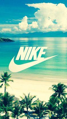 """Finalmente fui trazer um papel de parede da """"Nike""""."""