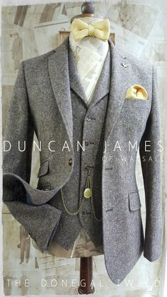 The Brown Donegal Tweed