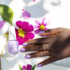 A pastel purple layered with high shine and deep pigment that dries easily and leaves you feeling beautiful, inside and out. #SpringIntoAction #ColorIsTheAnswer #OPINatureStrong #SummerNails #SummerMani #PurpleNails #PurpleMani #VacationNails #OPIObsessed #HealthyNails #CleanBeauty #NaturalNails #VeganMakeup #PlantBased #NaturalNailPolish #CleanLiving #VeganLife #VeganInspiration Natural Nail Polish, Purple Nail Polish, Opi Nail Polish, Opi Nails, Purple Nails, Natural Nails, Spring Nails, Summer Nails, Vacation Nails