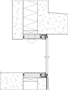 Concrete House detail section
