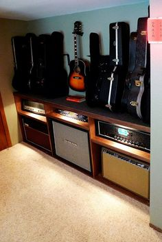 custom guitar cabinet los angeles thousand oaks ventura calabasas malibu beverly hills santa barbara | ABLE + BAKER
