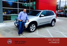 https://flic.kr/p/DLAXgn   Congratulations Eric on your #BMW #X5 from Farzin Rejaie at Fiat of Dallas!   deliverymaxx.com/DealerReviews.aspx?DealerCode=F741