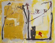Nadia Salem 2009 Painting, Painting Art, Paintings, Painted Canvas, Drawings