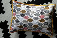 Bark & Branch Pillow Set by maureencracknell, via Flickr
