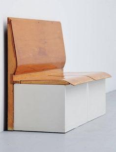 Piet Zwart Bruynzeel - Laundry Bench Holland 1950