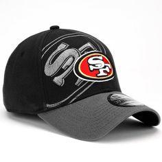 New Era San Francisco 49ers 39Thirty Classic Flex Hat - Black