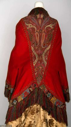 Dolman (image 3) | 1880s | wool | Augusta Auctions | November 13, 2013/Lot 119