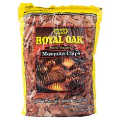 These mesquite wood chips have been hand-selected, graded, and fully seasoned to ensure you get the most flavorful product possible with an even, consistent burn. Mesquite wood is known for it's high heat and these mesquite chips live up to that reputation. These mesquite chips light quickly and easily to make sure that you don't have to waste time struggling to get your outdoor grill lit. Once the grill is lit, these mesquite chips produce a pleasing smoky aroma that is sure to stim...