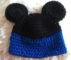 Mütze/Beanie - Mini Mouse für Jungs- gehäkelt For Boys