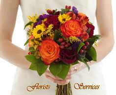 Send customized flower arrangements with varieties of fresh and dry flowers.
