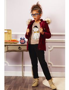 Fun and lovin the outfit! casual but fashionable #kindermode