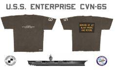 Uss Enterprise Cvn 65, The Big E, Seas, Aviation, Navy, Clothing, Mens Tops, How To Wear, Vintage