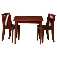 """Solutions by Kids R Us Table and Chair Set - Espresso - Solutions by Kids 'R' Us  - Babies""""R""""Us"""