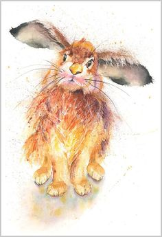 Gorgeous contemporary wildlife fine art prints and original watercolour paintings by artist Helen April Rose